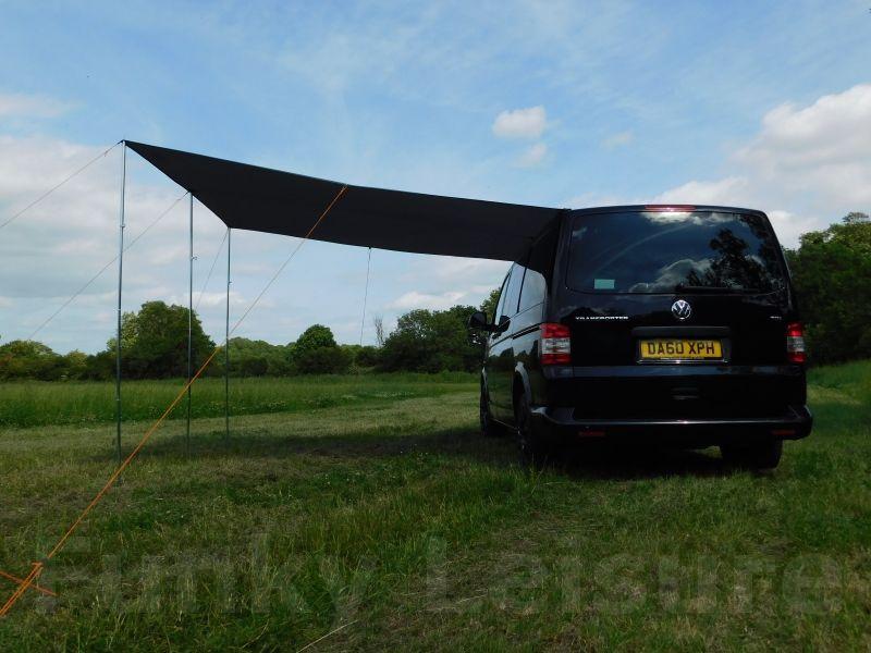 Vw T4 T5 T6 Transporter Sun Canopy Awning Azure Blue